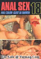 AS18 Porn Star John HOLMES Vintage Porn Magazine ANAL SEX 18 by Color Climax