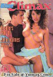 Color Climax Classic Danish Porn Mag BLUE CLIMAX 53 - John HOLMES