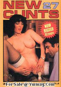NEW CUNTS Hardcore Magazine 27 by COLOR CLIMAX - Janet MONROE XXX