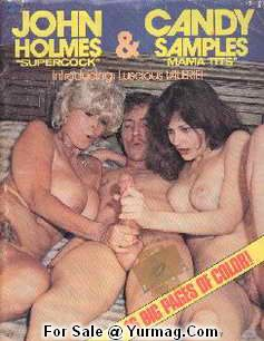 Porno Magazines John Holmes Candy Samples Porn Legend