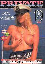 Vintage Swedish Adult Magazine PRIVATE 129 - Joo MIN LEE XXX