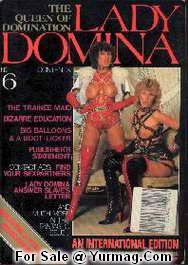 LADY DOMINA 6 : Femdom Retro Porn Magazine by TERESA ORLOWSKI