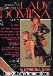 LADY DOMINA 4 : Retro Domina Fetish porn Magazine TERESA ORLOWSKI