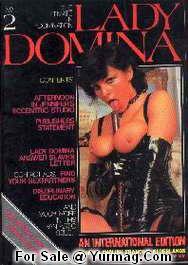 LADY DOMINA 2 : Vintage Fetish Porn Magazine by TERESA ORLOWSKI