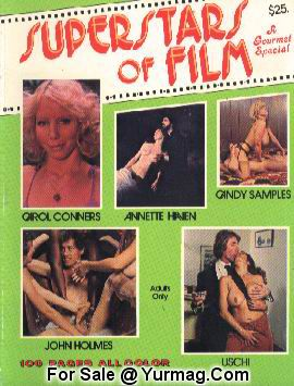 Candy SAMPLES XXX SUPERSTARS of FILM 1 Sex Magazine