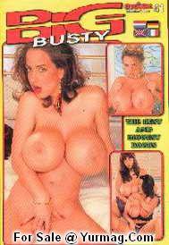 BIG BUSTY porn magazine
