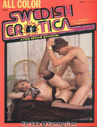 SWEDISH EROTIC Porn Magazine - John C.HOLMES