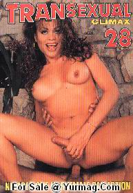 TRANSEXUAL CLIMAX color magazine