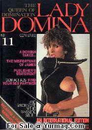 LADY DOMINA 11 : Fetish Porn UsedMagazine by TERESA ORLOWSKI